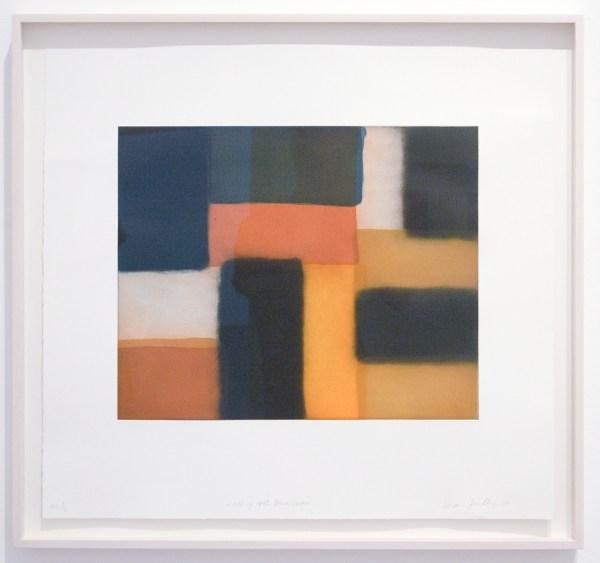 Sean Scully - Doric - Ets, geschilderde en gewone aquatint op papier, 2011