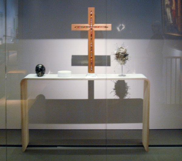 Damien Hirst - The Altar (The Fate of Man, the Eucharist, the Crucifix, the Sacred Heart) - 2005