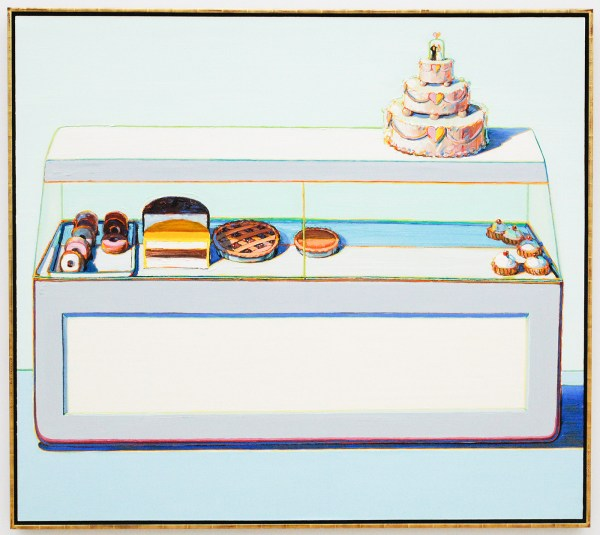Wayne Thiebaud - Bakery Case - 1996
