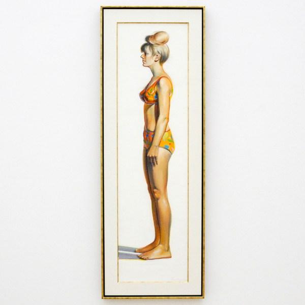 Wayne Thiebaud - Bikini Figure - 1966