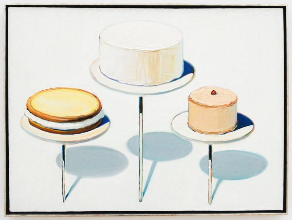 Wayne Thiebaud - Display Cakes - 1963