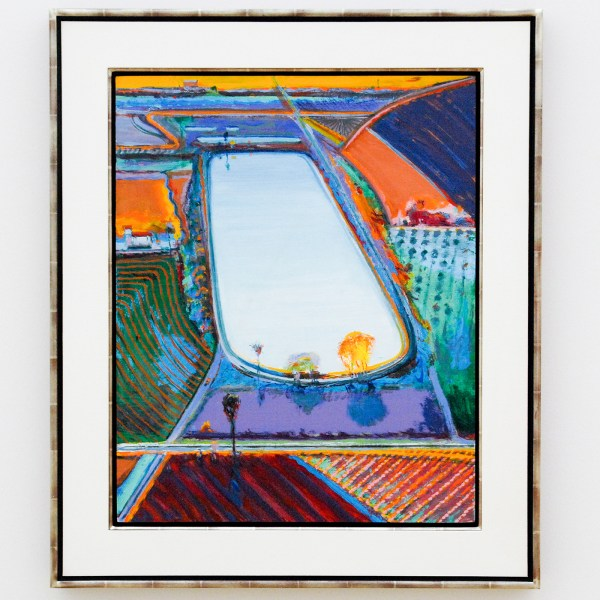 Wayne Thiebaud - Fall Fields - 2017