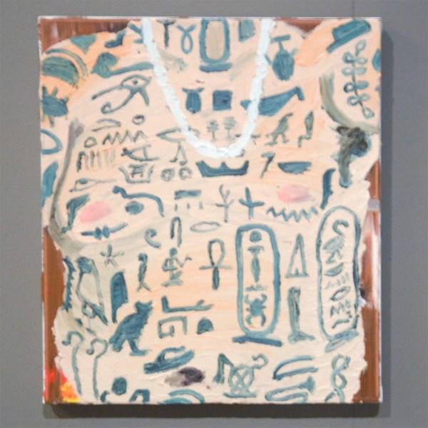 Sander van Noort - Untitled - 24x30cm Olieverf op canvas