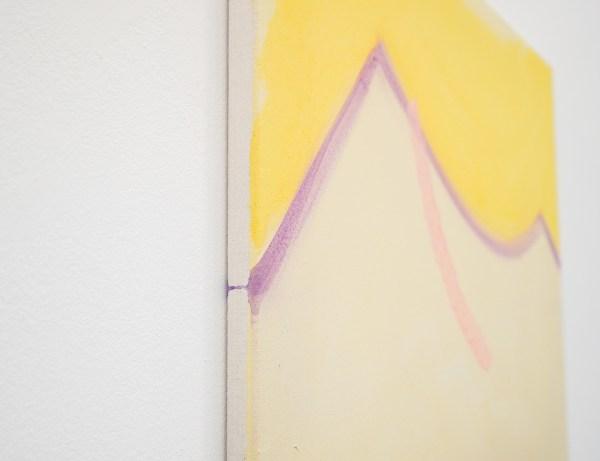 Paul Drissen - Untitled - 100x70cm Gouache en dispersie op canvas (detail)