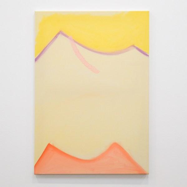 Paul Drissen - Untitled - 100x70cm Gouache en dispersie op canvas