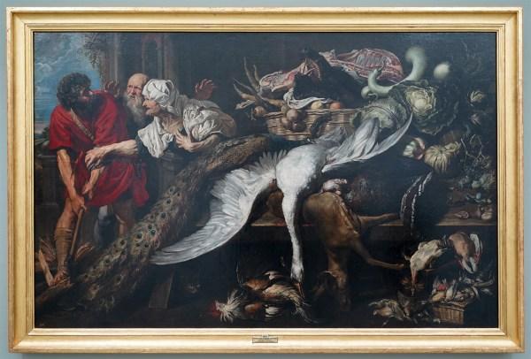 Peter Paul Rubens & Frans Snyders - De herkenning van Philopoemen - Olieverf op canvas, 1609