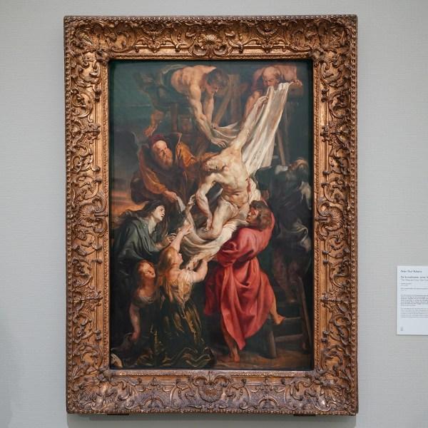 Peter Paul Rubens - De Kruisafname - Olieverf op paneel, 1611-1612