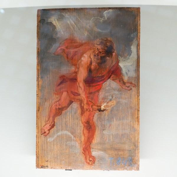 Peter Paul Rubens - Prometheus - Olieverf op paneel, 1636