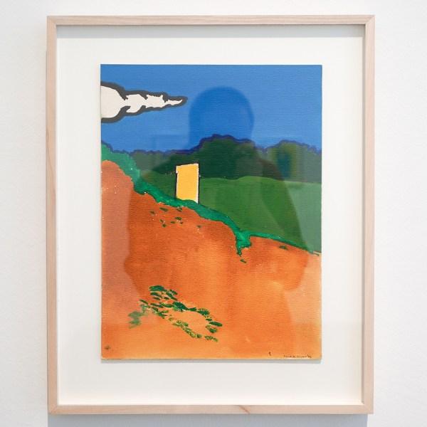 Raoul de Keyser - Vendée - Potlood, aquarel en acryl op geschept lompenpapier, 1969