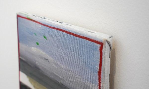 Raoul de Keyser - Oever - Olieverf op doek op hout, 2005 (detail)