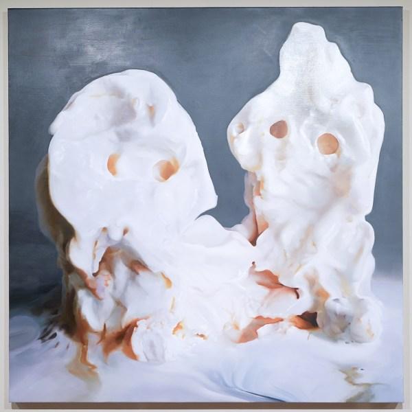 Janice McNab - Memoryland - Olieverf op canvas