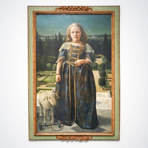Carel Willink - Meisje in Renaissancekostum - Olieverf op doek - ING Collectie