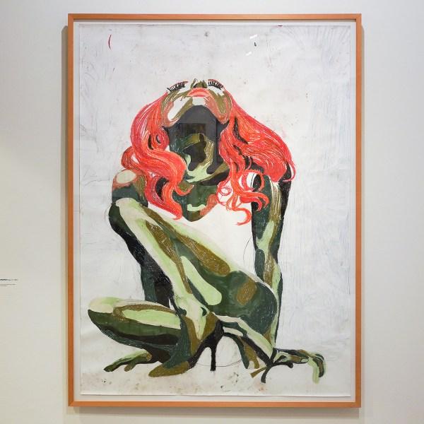 Charlotte Schleiffert - Hope - Acryl en pastelkrijt op papier - Eneco Art Collection
