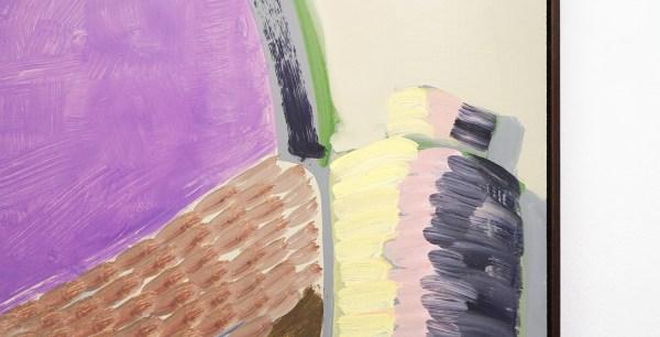 Emo Verkerk - Joseph Roth - 86x83cm Grondverf, olieverf op hardboard (detail)