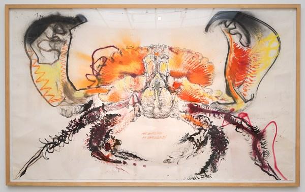 Erik Andriesse - Zonder Titel - Gemengde Techniek op papier - Sanquin Kunstcollectie