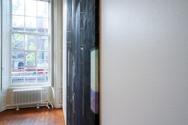 Raymond Barion - Black Room - 310x200cm Acrylverf op canvas (detail)