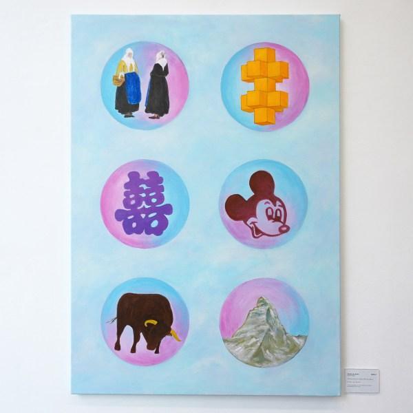 Woody van Amen - Night Frost - 120x85cm Acrylverf op canvas