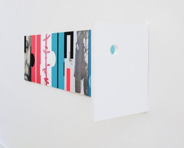 Narcisse Tordoir - Zonder Titel - 60x234x45cm Mixed media op houten paneel (detail)
