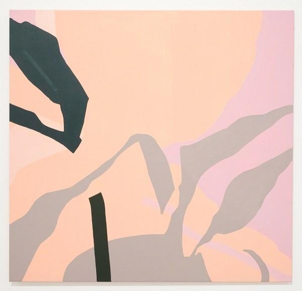Liesbeth Piena - Shadow shapes - 130x125cm Olieverf en acrylverf op linnen