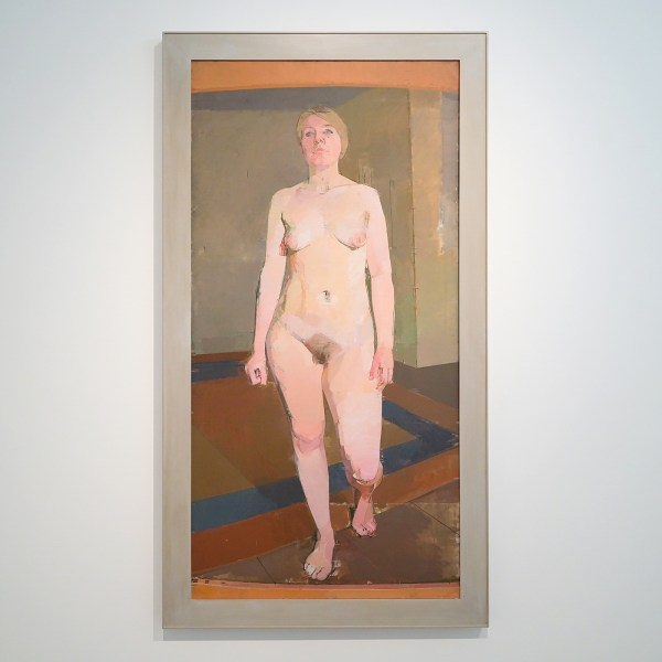 Euan Uglow - Large Nude Walking Towards You - Olieverf op doek, 1969-1971