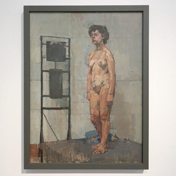 Euan Uglow - Standing Nude - Olieverf op doek, 1951-1952