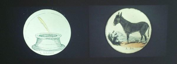 Marcel Broodthaers - ABC-ABC Image - Diaprojectie, twee maal 80 dia's