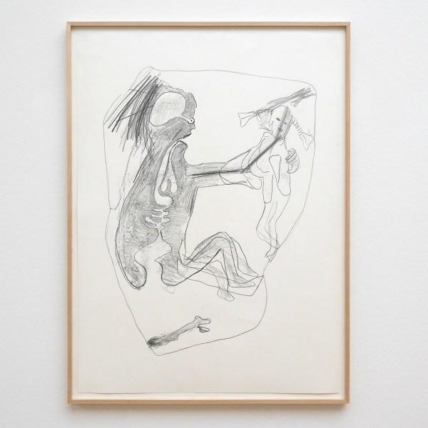 Mark Manders - Untitled - Potlood op papier