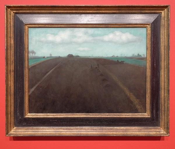 Jan Mankes - Bouwland - Olieverf op doek, 1917