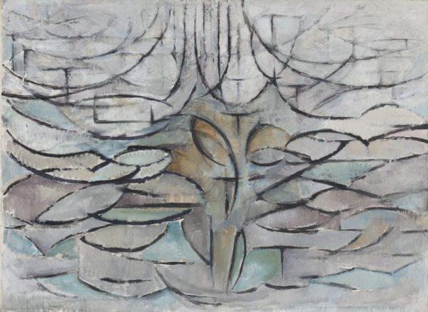 Piet Mondriaan - Bloeiende Appelboom - 78,5x107,5cm Olieverf op doek, 1912 Kunstmuseum Den Haag