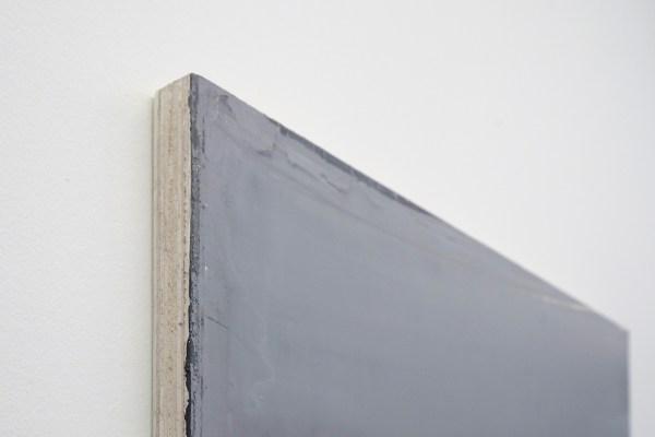 Willy de Sauter - Zonder Titel - 85x75cm Pigment en krijt op hout, 2020 (detail)