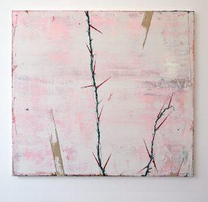 Ronald Zuurmond - Zonder Titel - 100x110cm, Olieverf op canvas