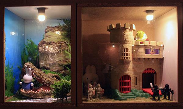 24 Diorama's Waar is Nijntje (detail)
