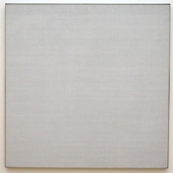 Agnes Martin - Grass - Acrylverf en potlood op doek