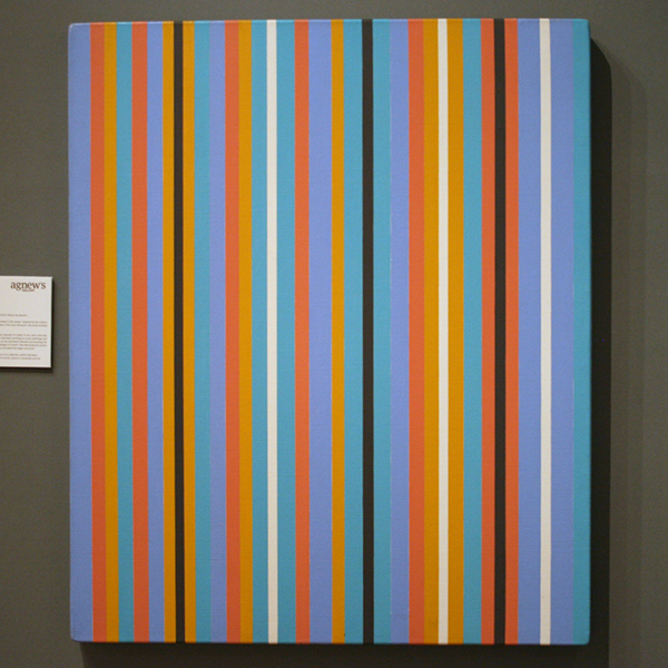 Agnew - Bridget Riley