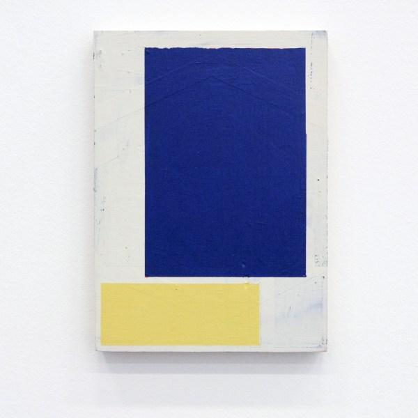 Alain Biltereyst - Untitled - 17x23cm Acrylverf op multiplex 2012