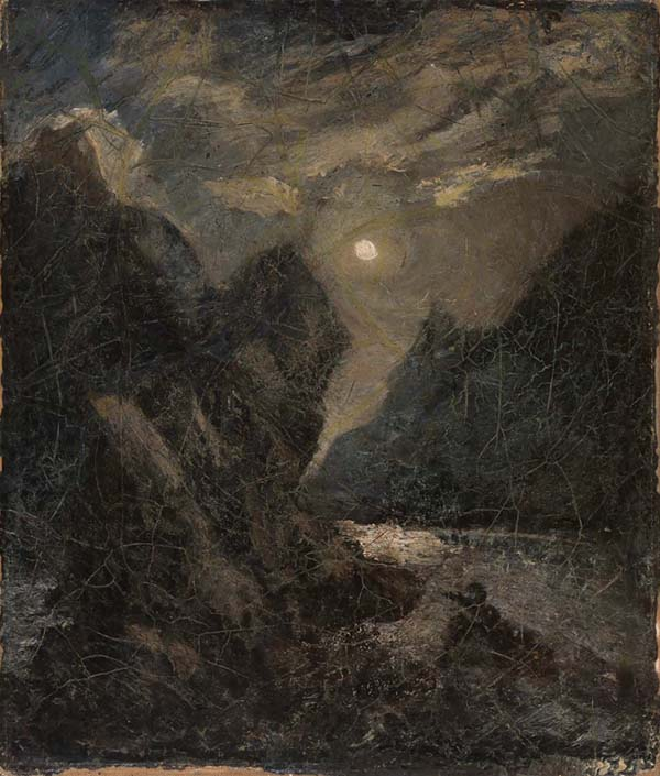 Albert Pinkham Ryder - The Lorelei - 57x49cm