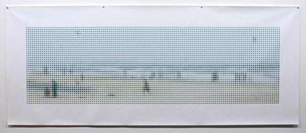 Albert van Westing - Strand - Pigmentdruk op geprepareerd katoen