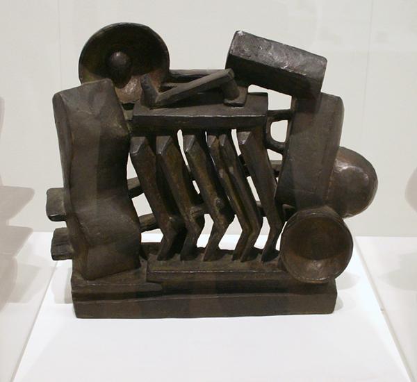 Alberto Giacometti - Composition (Man and Woman) - Brons
