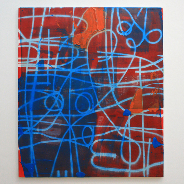 Alex Hubbard - All My Good Intentions - Acrylverf, lakverf, kunsthars en glasvezel op doek
