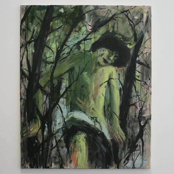 Andrej Dubravsky - Untitled 002 - 120x160cm Acrylverf op linnen