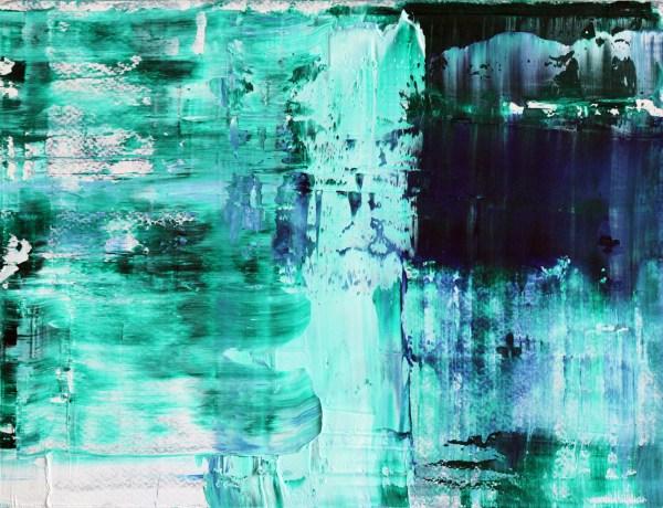 Angelique Esther Don - Zonder Titel - 25x33 cm Olieverf op papier op paneel, 2015