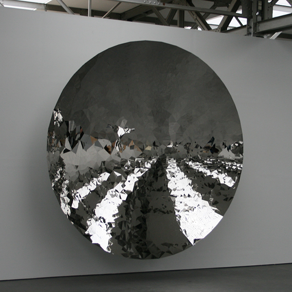 Anish Kapoor - Untitled - Roestvrij staal