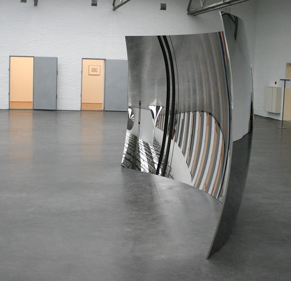 Anish Kapoor - Vertigo - Roestvrij staal