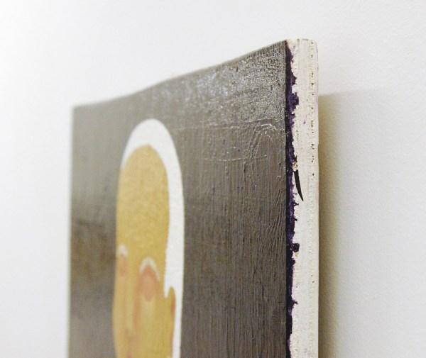 Anne Forest - David & Abigail - 51x75cm Olieverf op paneel (detail)