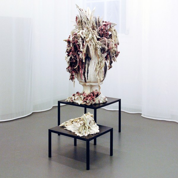 Anne Wenzel - Attempted Decadence (Blossoms, Large Blood Red & Blossoms, Lying) - Karmiek en metaal 2013