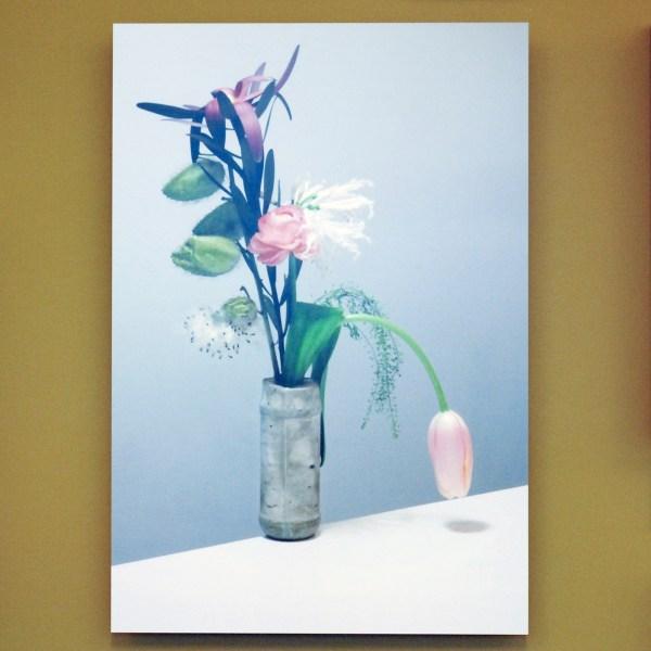 Annegret Kellner - Your Everlasting Odour (Pompon) - Lambda print op aluminium, oplage 5 (€750,-)
