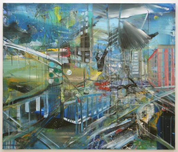 Anneke Wilbrink - Zonder Titel - 170x200cm Acrylverf op canvas
