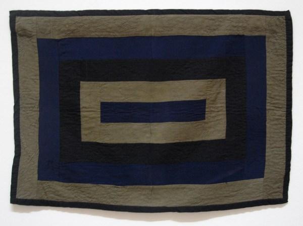 Anoniem - Quilt voor een wieg - Wol, 1910