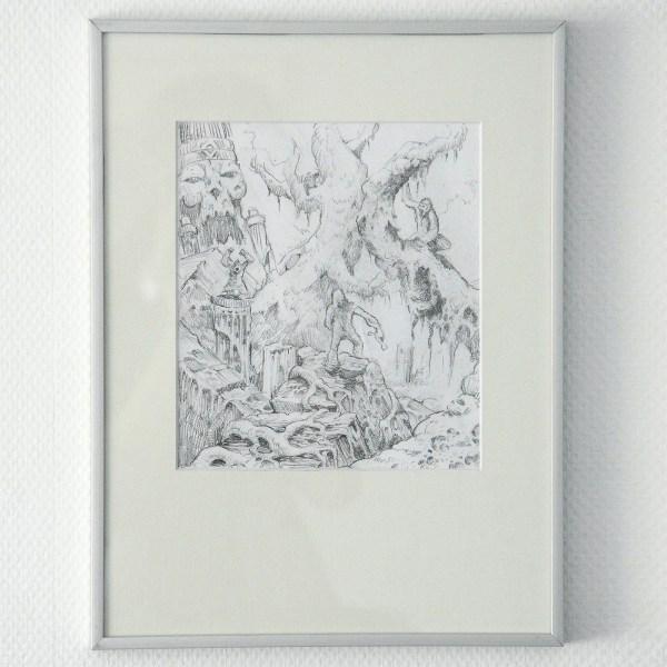 Arik Roper - Onbekende titel - Potlood op papier