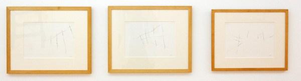 Armando - Der Zaun - elk 21x30cm Potlood op papier, 1996
